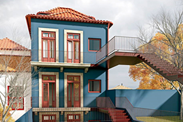 Reabilitação de edifício na Rua S. Victor
